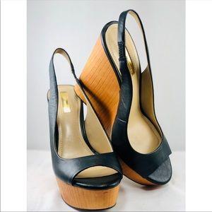 "BCBGeneration Shoes - BCBGeneration ""Haven"" open toe wedge Sandal"